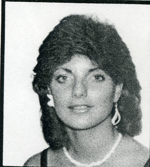 High school yearbook picture