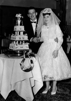 Wedding October 28th, 1961 Scotland's St. Stephen's Church