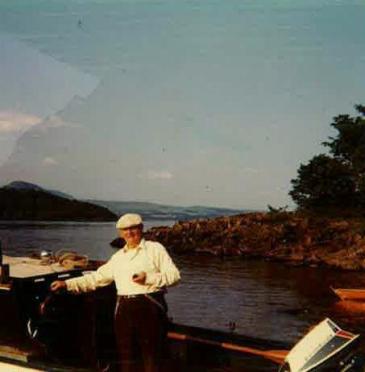 Granddad, Lochs 1972