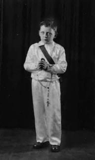 First Communion 1944 Glasgow